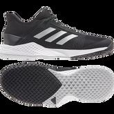 Alternate View 4 of Adizero Club Men's Tennis Shoe - Black/White