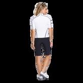 Alternate View 1 of Essentials Gracelyn Elbow Sleeve Full Zip Top