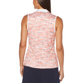 Alternate View 1 of PGA TOUR Pebble Beach Print Sleeveless Shirt