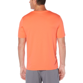 Alternate View 2 of Grand Slam Striped Front Panel Short Sleeve Tee Shirt