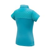 Alternate View 1 of Kendall - Girls Performance Golf Polo W/ Sleeve & Back Cutout