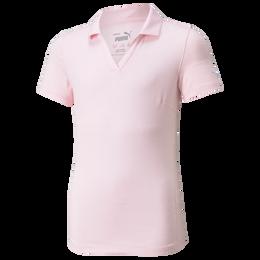 Cloudspun Girls Short Sleeve Polo Shirt