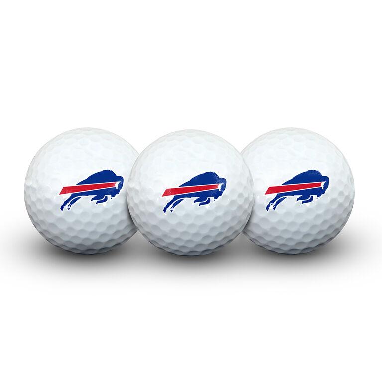 Team Effort Buffalo Bills Golf Ball 3 Pack