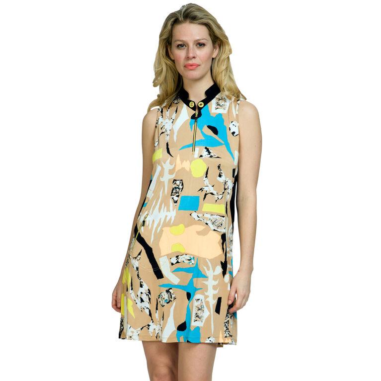 Jamie Sadock Cirque Print Dress