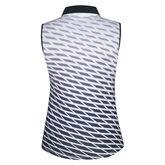 Nivo Sports Sleeveless Back Print Polo