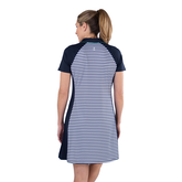Alternate View 4 of Appletini Collection: Short Sleeve Striped Dress