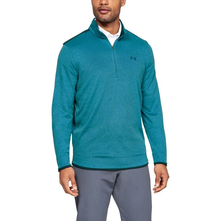 UA Storm Cotton SweaterFleece ½ Zip Pullover
