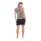 Alternate View 3 of Animal Instincts Collection: Adrianna Cheetah Print Sleeveless Top