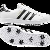 Alternate View 8 of SUPERSTAR Men's Golf Shoe - White/Black