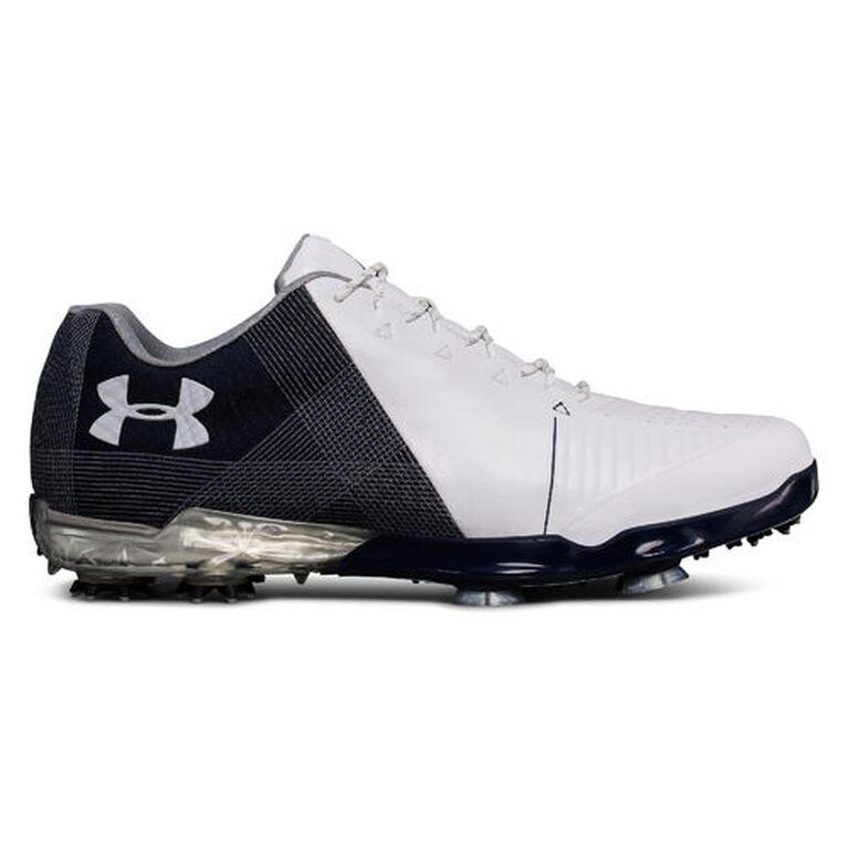 Under Armour Spieth 2 Men's Golf Shoe - White/Blue