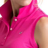 Vineyard Vines Women's Sleeveless Performance Pique Polo