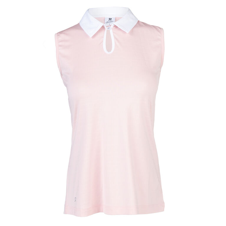 Blush Group: Pheb Sleeveless Polo Shirt