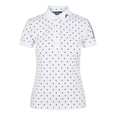 Alternate View 4 of Short Sleeve Polka Dot Tech Polo Shirt