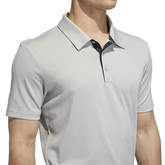 Alternate View 6 of Ultimate365 Heathered Blocked Polo Shirt
