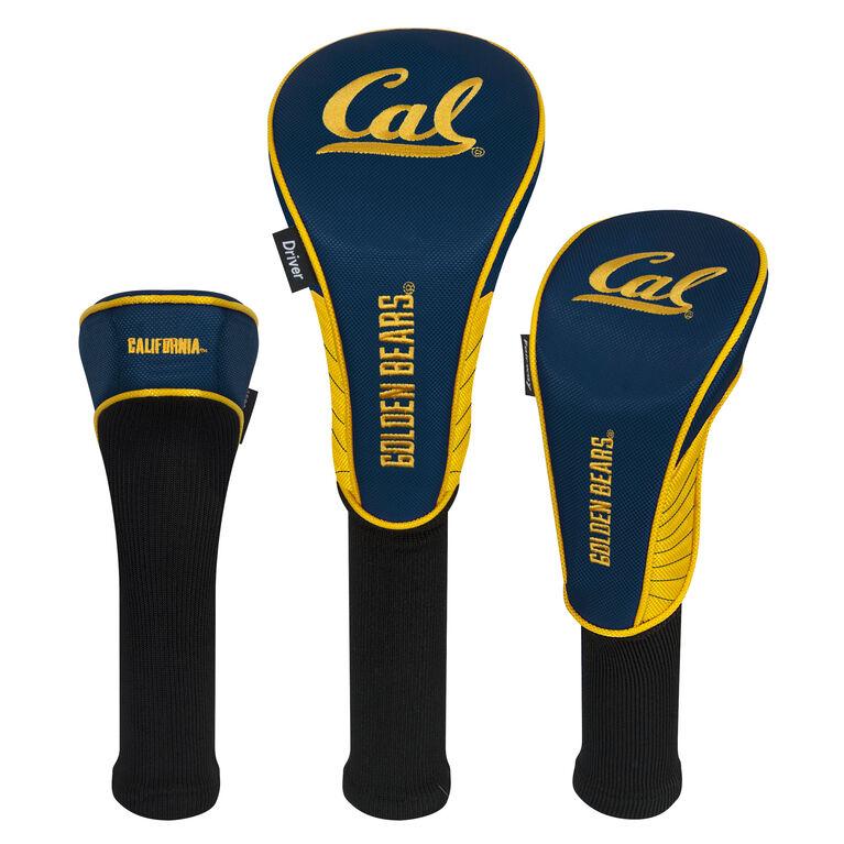 Team Effort Cal Berkeley Golden Bears Headcover Set of 3