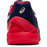 Alternate View 5 of GEL RESOLUTION 8 Men's Tennis Shoes - Navy/Red