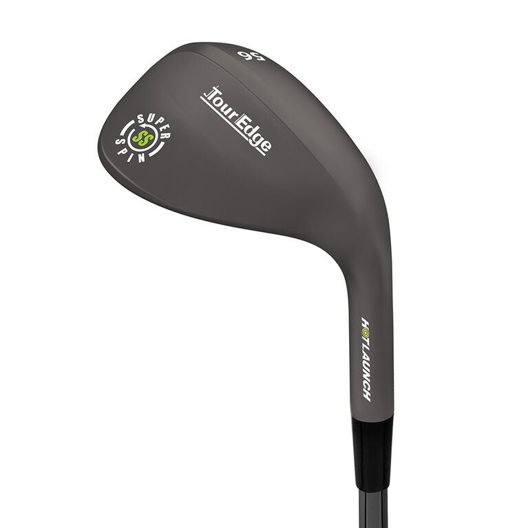 Tour Edge Hot Launch 3 Black/Nickel Super Spin Wedge w/ Steel Shaft
