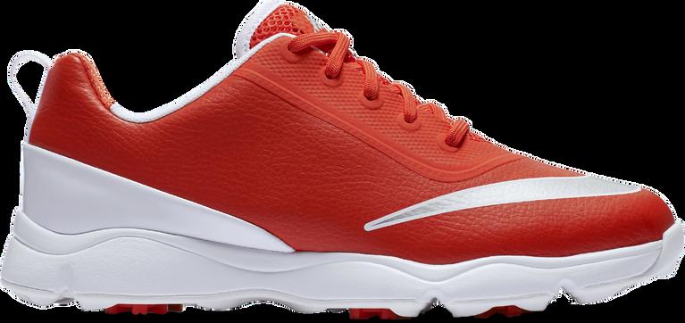 Nike Junior Control Junior Golf Shoe - Orange/White