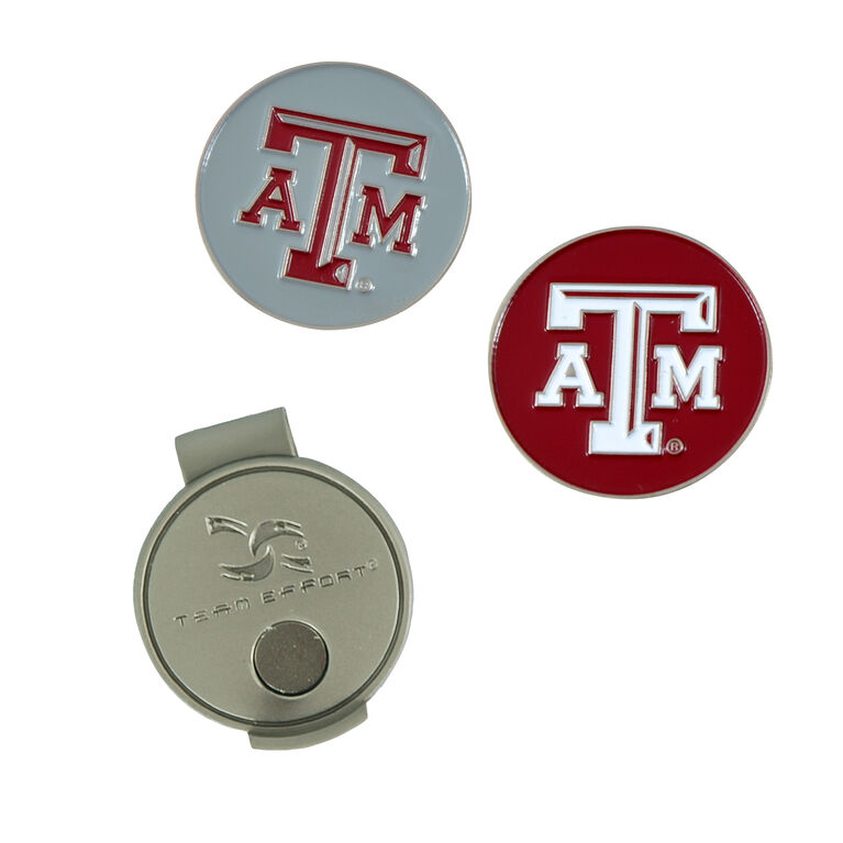 Team Effort Texas A&M Aggies Hat Clip