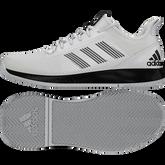 Alternate View 7 of Adidas Adizero Club Men's Tennis Shoes - White