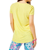 Alternate View 2 of Etta Short Sleeve V-Neck Tee Shirt