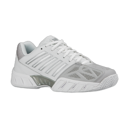 K-Swiss Bigshot Light 3 Junior's Tennis Shoe - White/Silver
