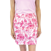 Alternate View 1 of Rose Floral Golf Skort