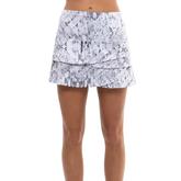 Alternate View 1 of Geo Scalloped Tennis Skirt