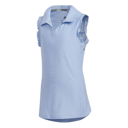 Girls Sleeveless Golf Polo