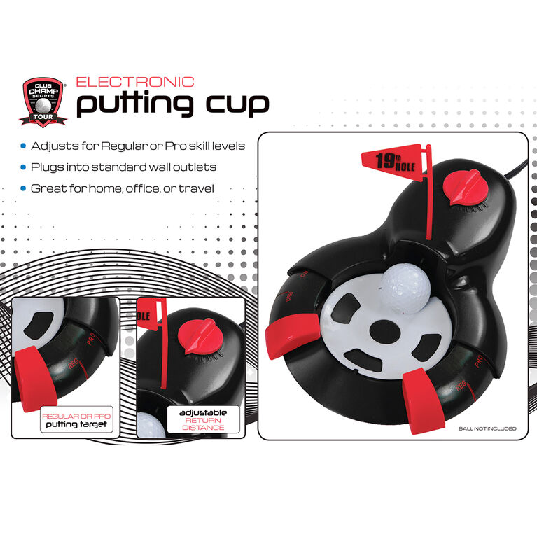 Golf Gifts & Gallery Electronic Putting Cup