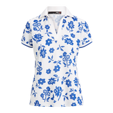 Alternate View 4 of Short Sleeve Floral Print Polo