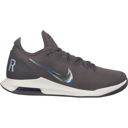 NikeCourt Air Max Wild Card Men's Tennis Shoe - Grey/Purple - Profile