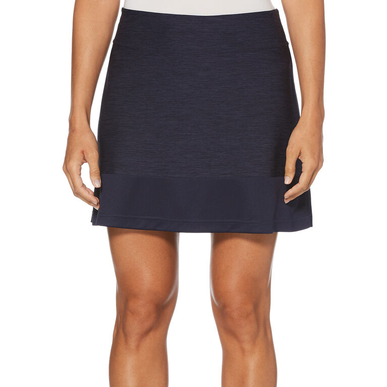 PGA TOUR Tonal Heather Color Block Skort