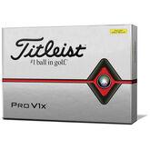 Alternate View 1 of Pro V1x Yellow Golf Balls