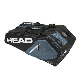 Head Core 6R Combi Bag - Black/White/Grey