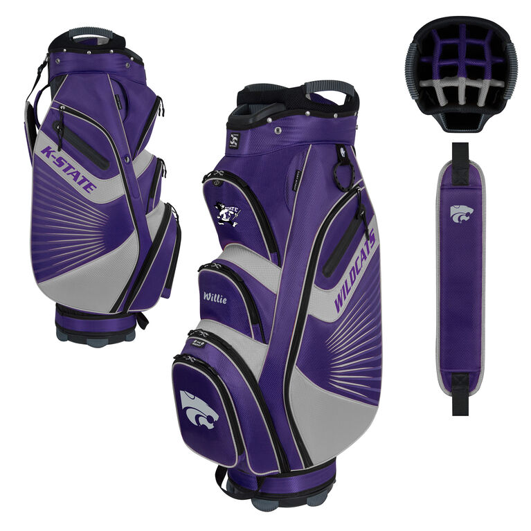 Team Effort Kansas State Bucket II Cart Bag