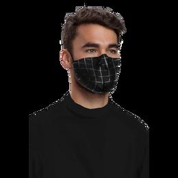 J-MENS Grid Print Mask