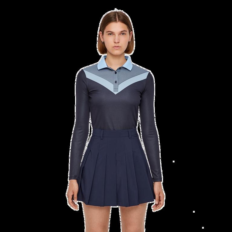 Long Sleeve Laika Color Block Bodysuit