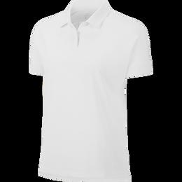 Short Sleeve Pleat Back Ace Polo