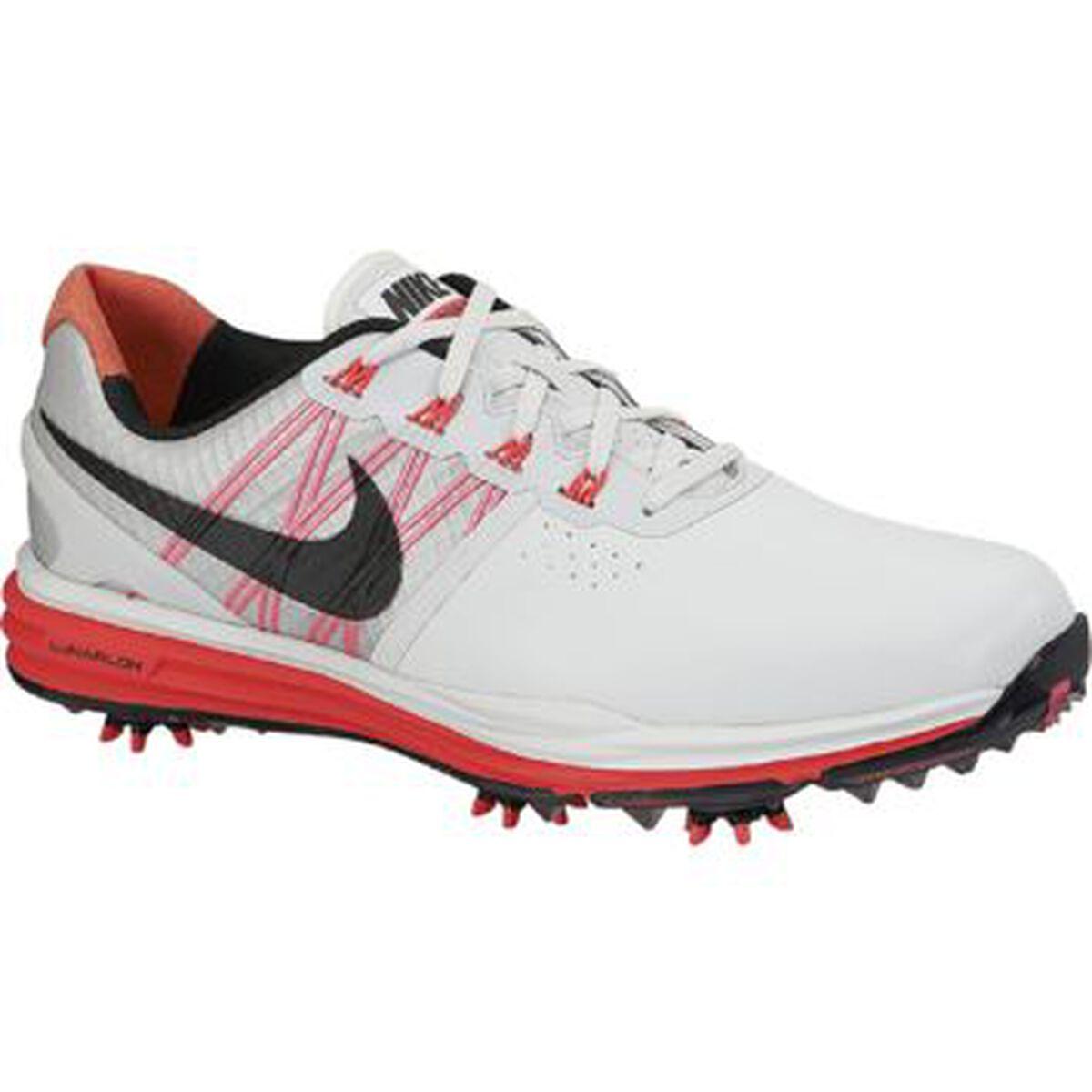 best loved ca202 3aa39 Nike Lunar Control III Men  39 s Golf Shoe - Grey Red Zoom Image