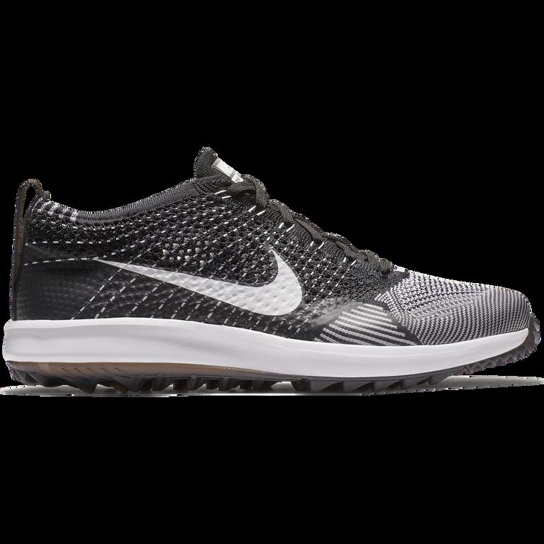 ecuador Whitney césped  Nike Flyknit Racer G Men's Golf Shoe - Black/White   PGA TOUR Superstore