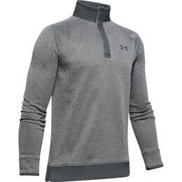 UA Storm SweaterFleece ½ Snap Boys' Golf Long Sleeve Pullover