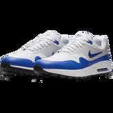 Alternate View 5 of Air Max 1 G Men's Golf Shoe - White/Blue