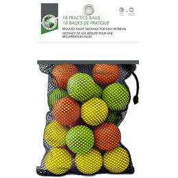 Foam Balls 18-Pack in bag