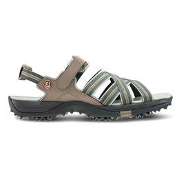 Women's Golf Sandal - Tan