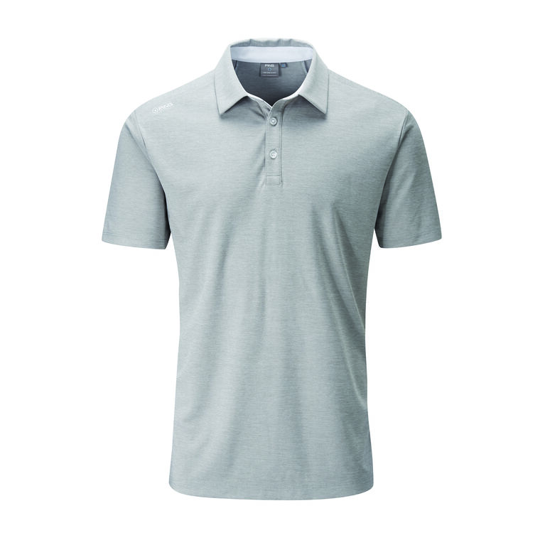 Solid Heathered Polo