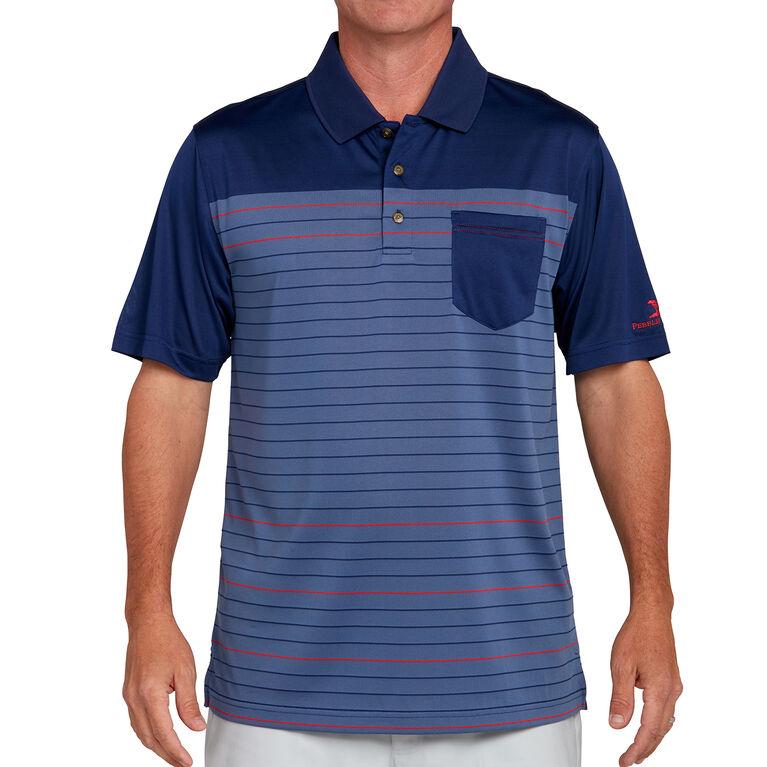 Pebble Beach Stripe Polo