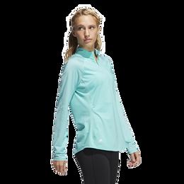 Long Sleeve Quarter Zip Polo Shirt