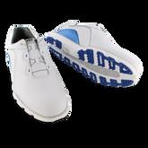 Alternate View 3 of Pro/SL BOA Men's Golf Shoe - White/Blue (Previous Season Style)