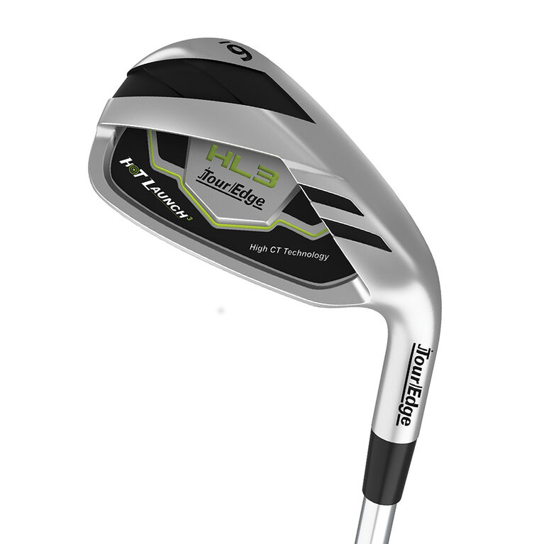 Tour Edge Hot Launch 3 4-PW Iron Set w/ Graphite Shafts